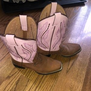 Justin's Cowboy Boots Girls Size 4